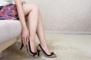美脚女性の画像